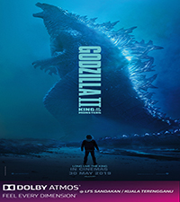 GODZILLA: KING OF THE MONSTERS (ATMOS)