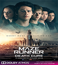 MAZE RUNNER: THE DEATH CURE (ATMOS)